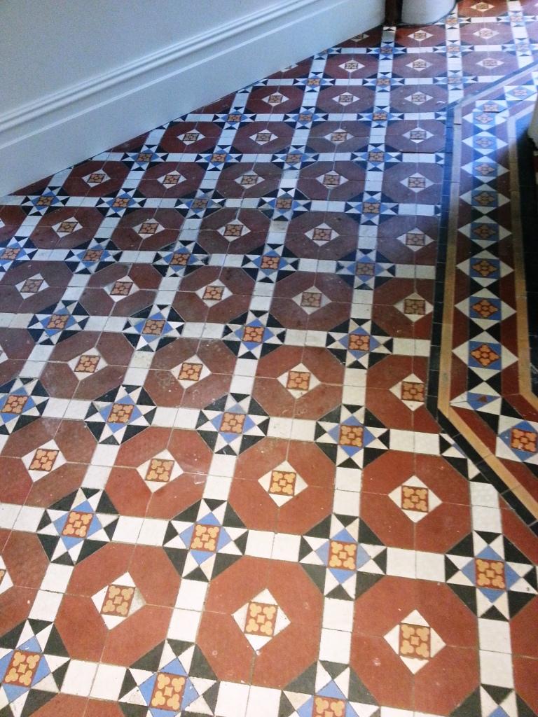 Fulham Victorian Floor Before