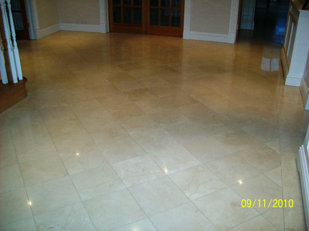 Marble Tiled Hallway Farnborough2