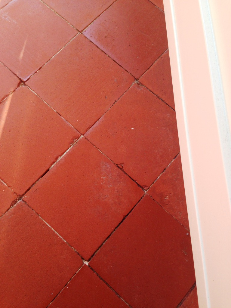 Quarry Tile Kitchen Floor After