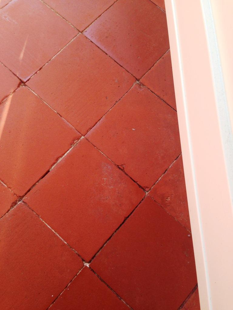 Quarry Tile Kitchen Floor After