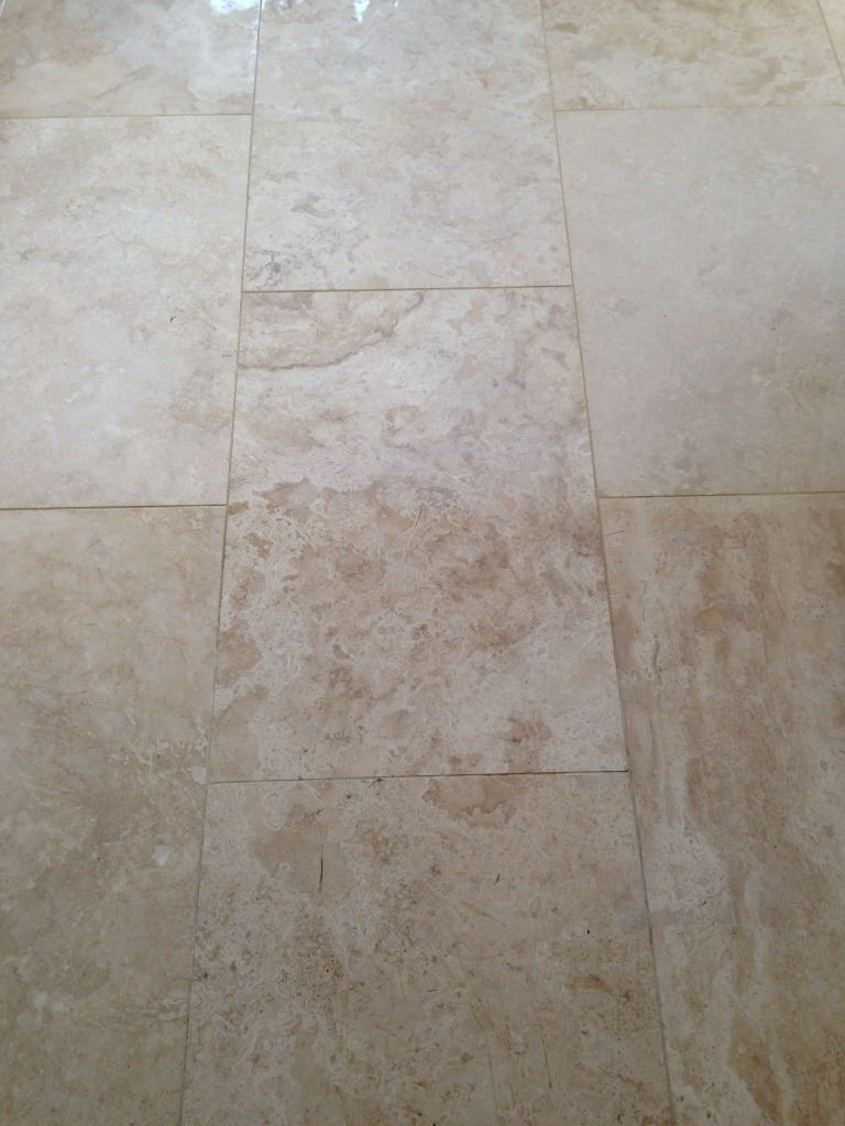 Travertine Mitcham Before