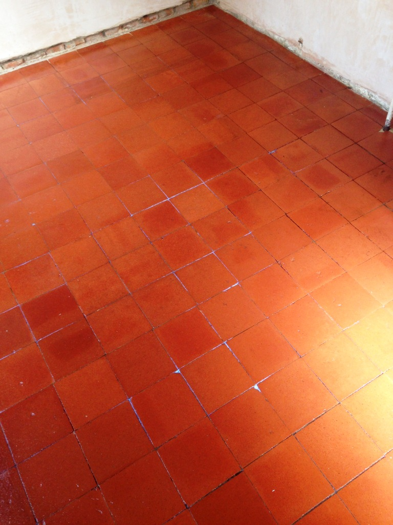 Quarry Tile Cleaning After