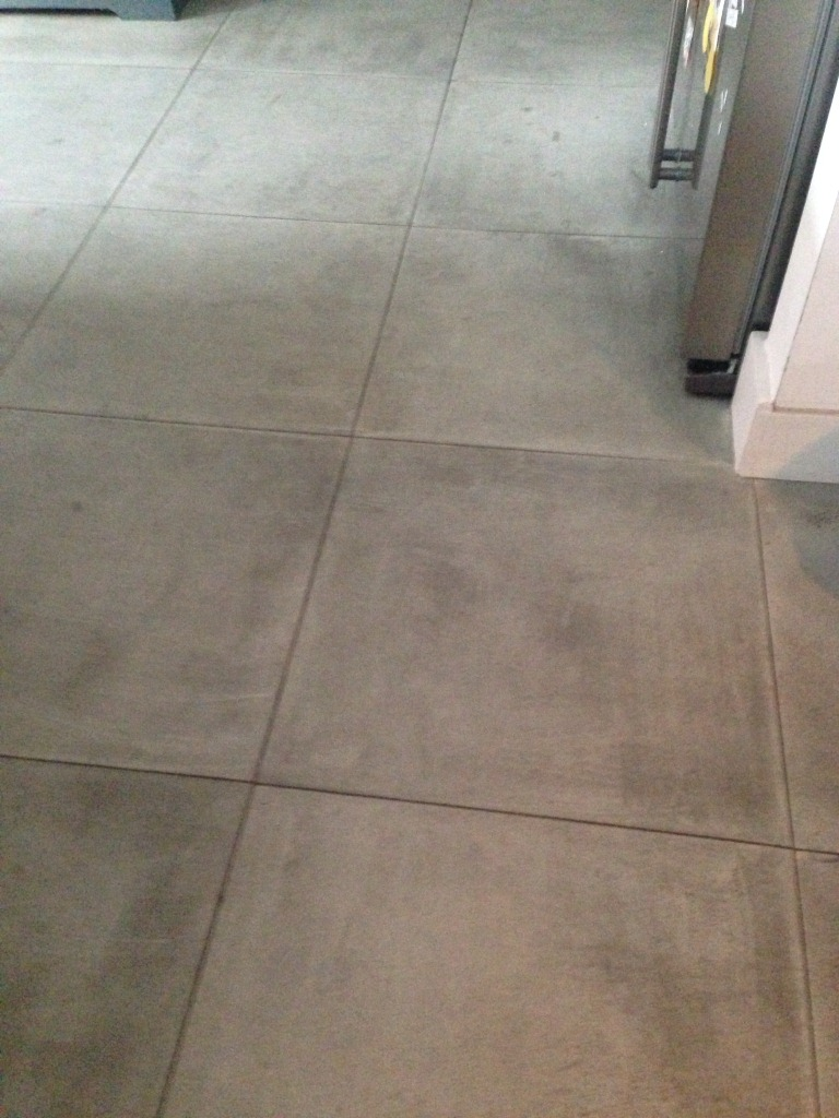 Sandstone Tiles Before Cleaning