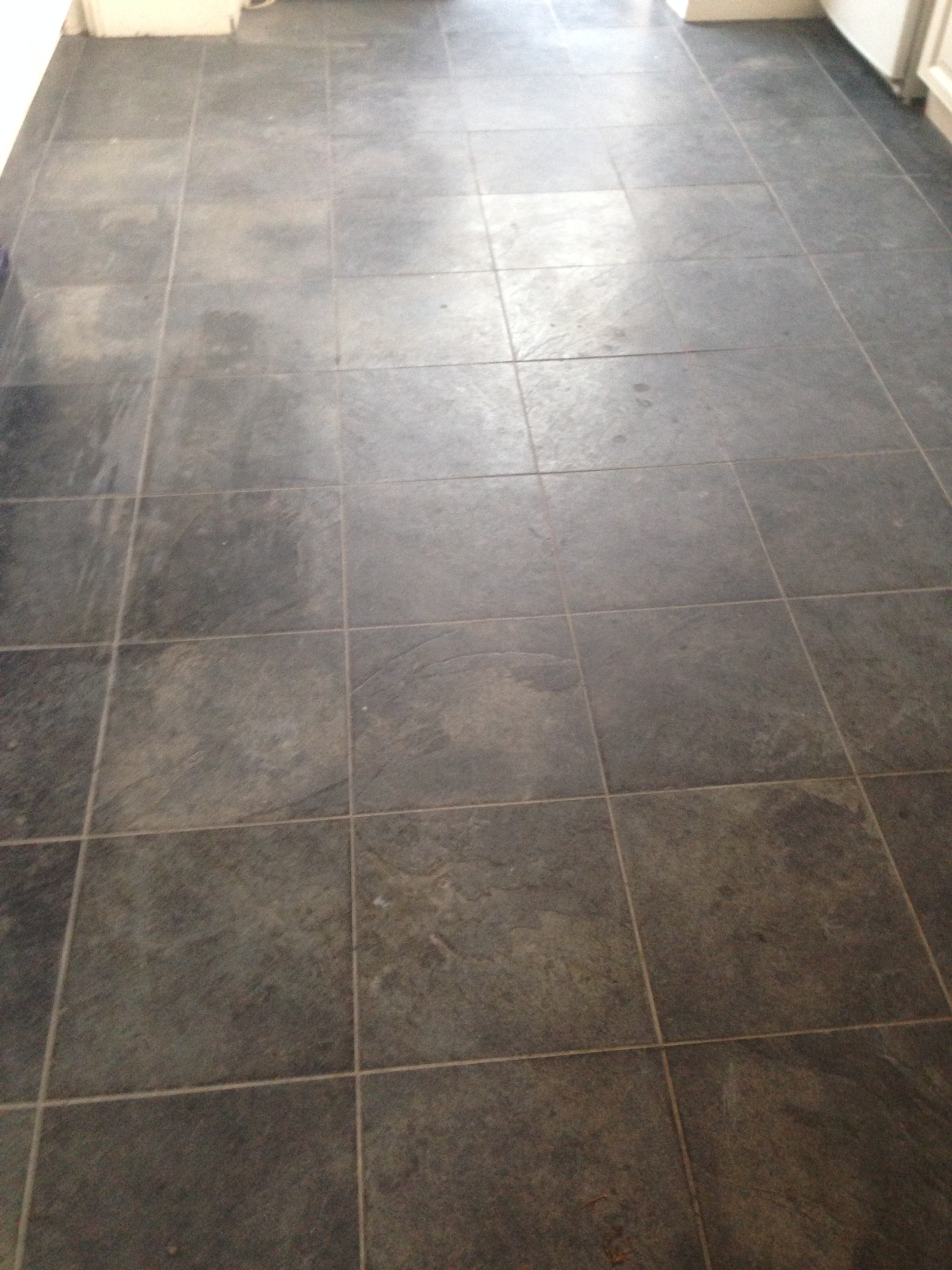 Balham Slate Floor Before