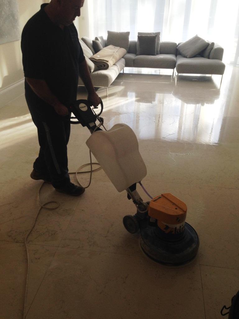 Marble Tiled Floor Oxshot