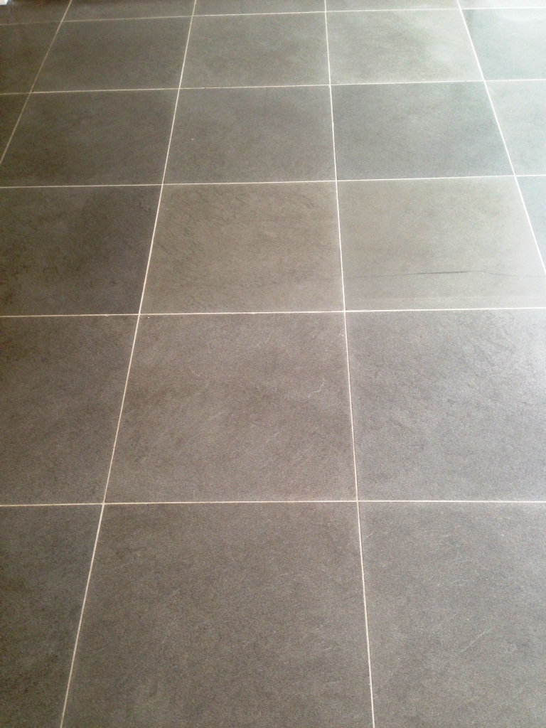 Limestone Floor Fulham After Cleaning Sealing 6