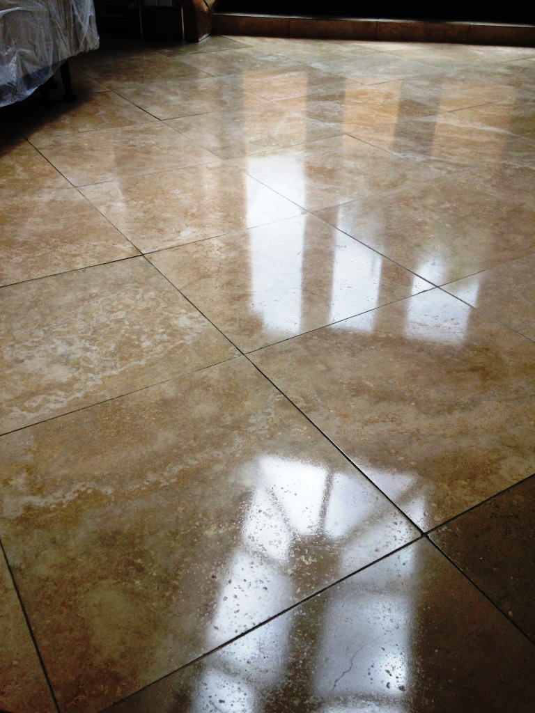 Travertine Floor Surbiton After