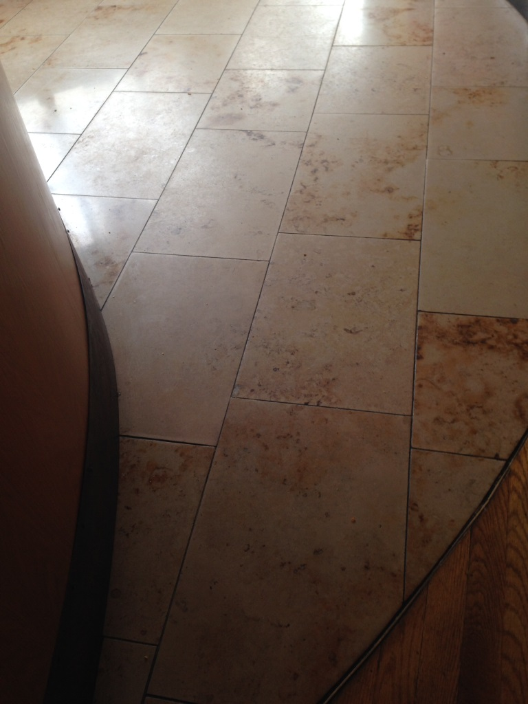Marble Tiles Indian Restaurant South Croydon Before