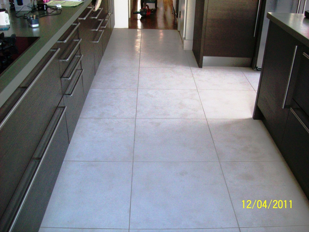 Limestone Floor After