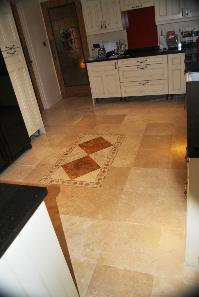 Pitted Travertine Floor After Polishing Limpsfield Chart