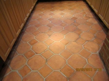 TerracottaFloor After Cleaning