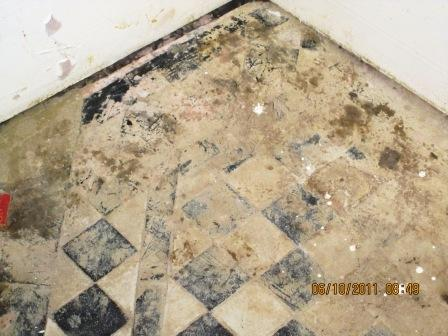 Victorian Floor Wimbledon Before Restoration