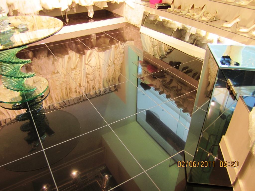 Putting the shine back on black porcelain floor tiles east black porcelain floor after photo doublecrazyfo Images