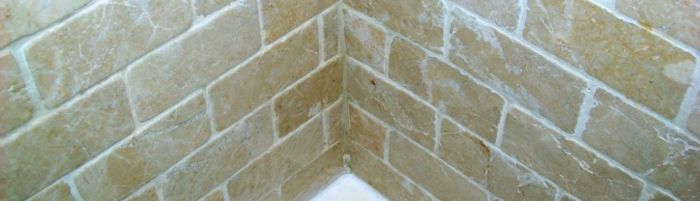 Travertine Wall Tile Shower Refresh in Wandsworth