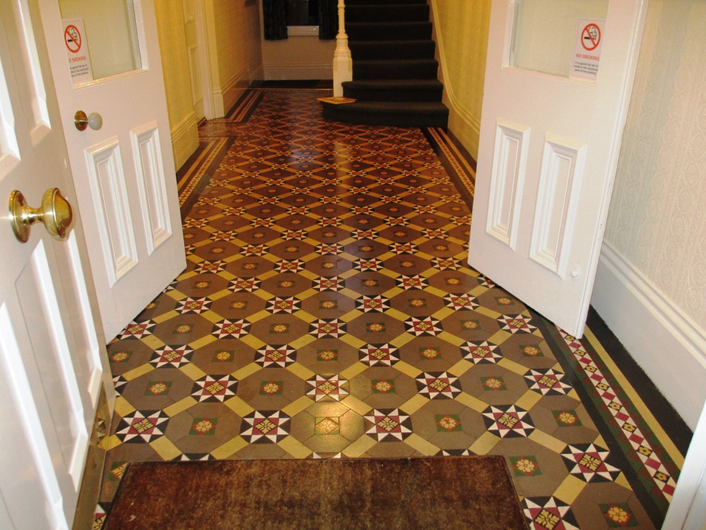 Victorian Floor Cleaned Sealed in Richmond