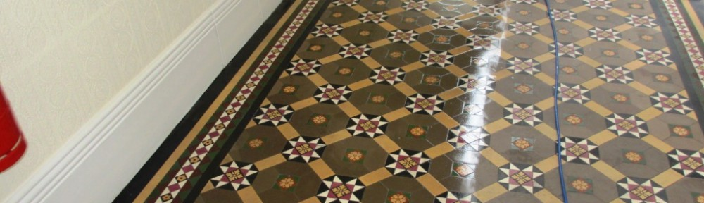 Victorian Tiled Hallway Restoration in Richmond