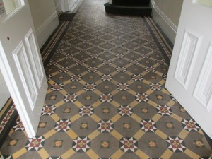 Hallway cleaning east surrey tile doctor for Victorian kitchen floors