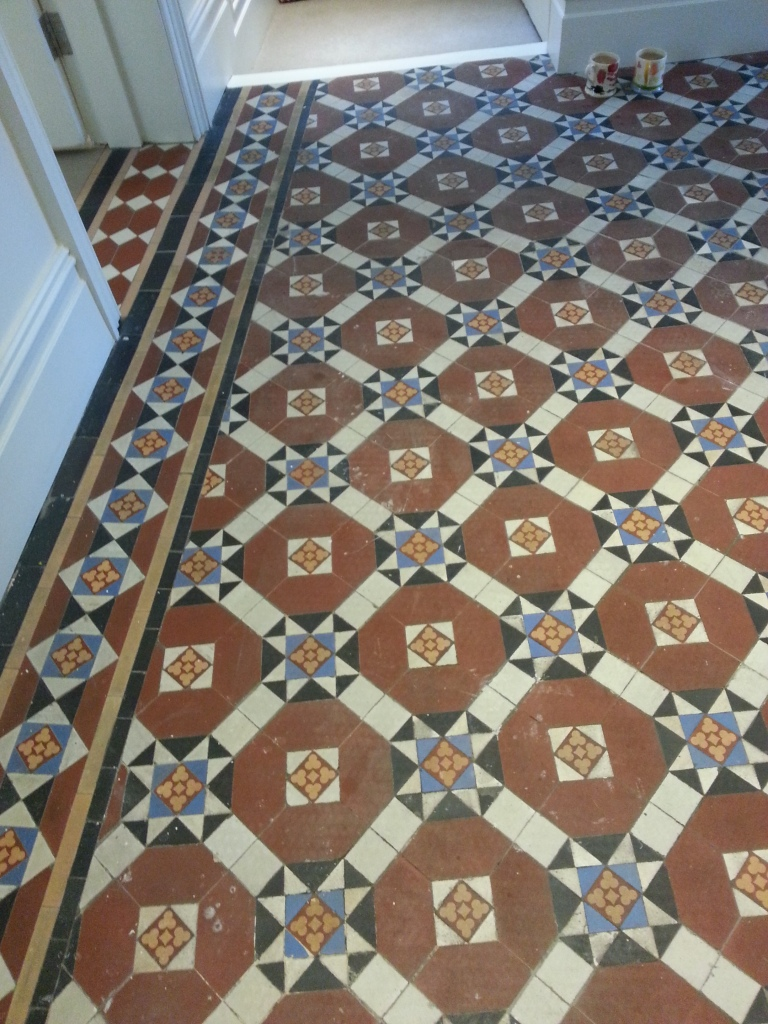 Fulham Victorian Floor Before