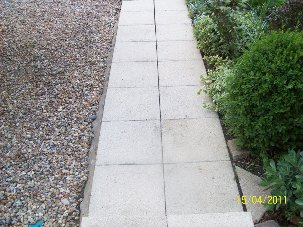 House main Pathway After Cleaning