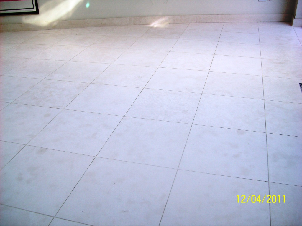 Limestone Tiled Floor Cleaning in Fulham
