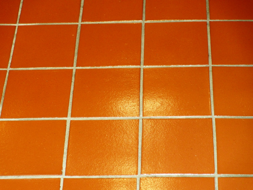 Quarry Tiled Kitchen Floor Cleaned In Leatherhead East