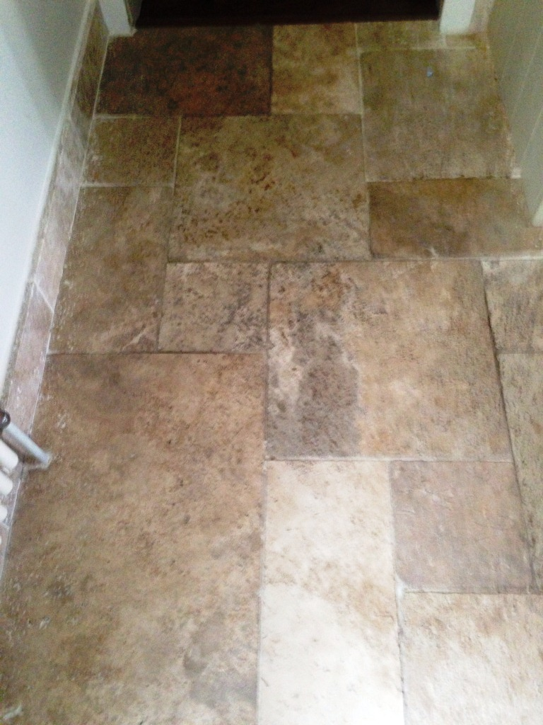 Dirty Travertine Before