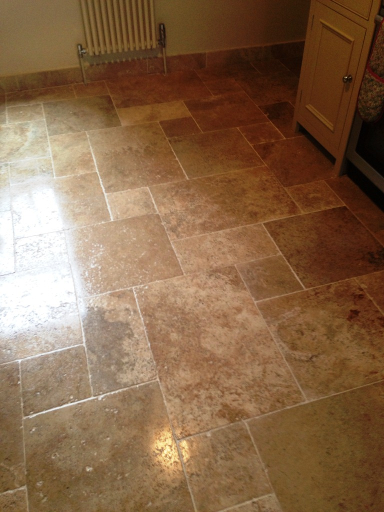 Dirty Travertine Sealed