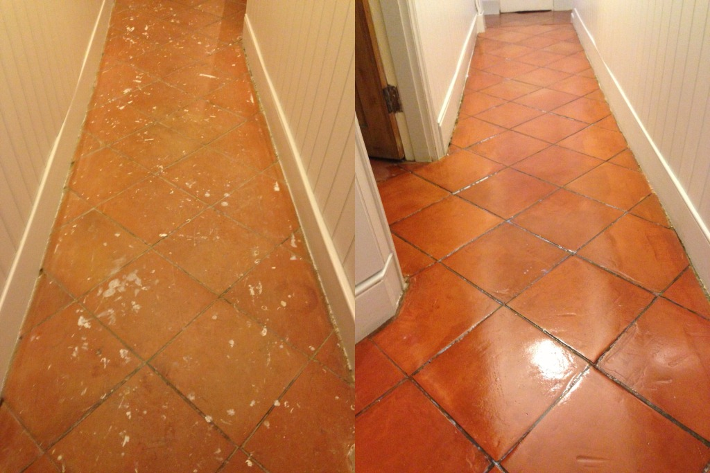 Terracotta Restoration Before and After