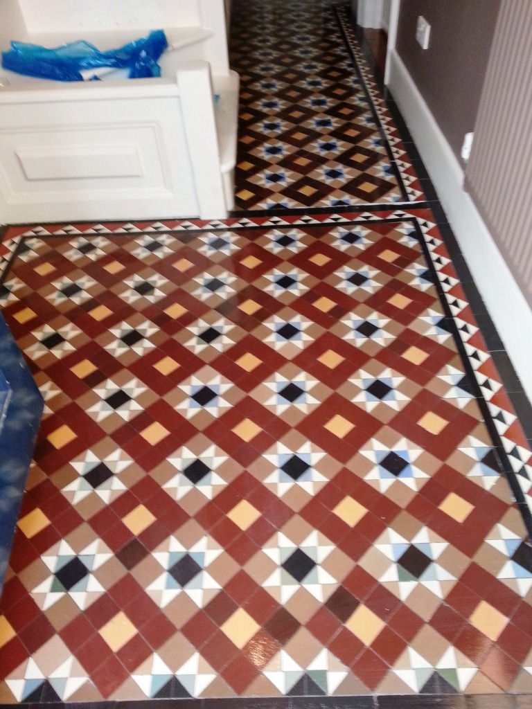 Victorian Floor After Cleaning