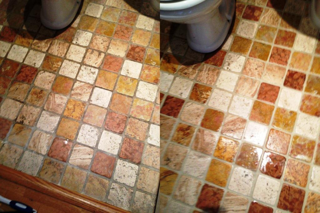 Marble Cloakroom- WC Floor
