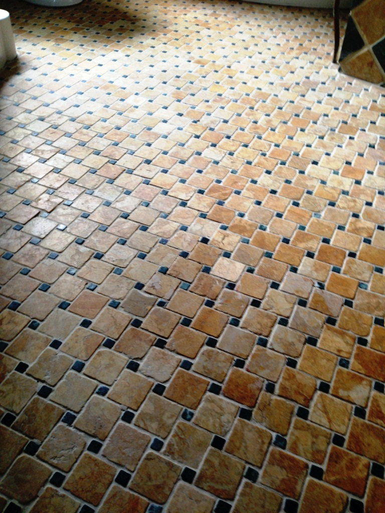 Marble floor Tiles After Cleaning