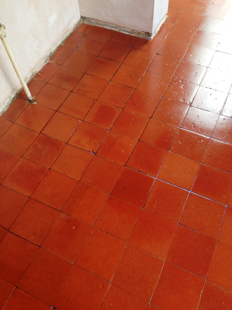 Quarry tile quarry tiled floors cleaning and sealing quarry tile cleaning after dailygadgetfo Gallery