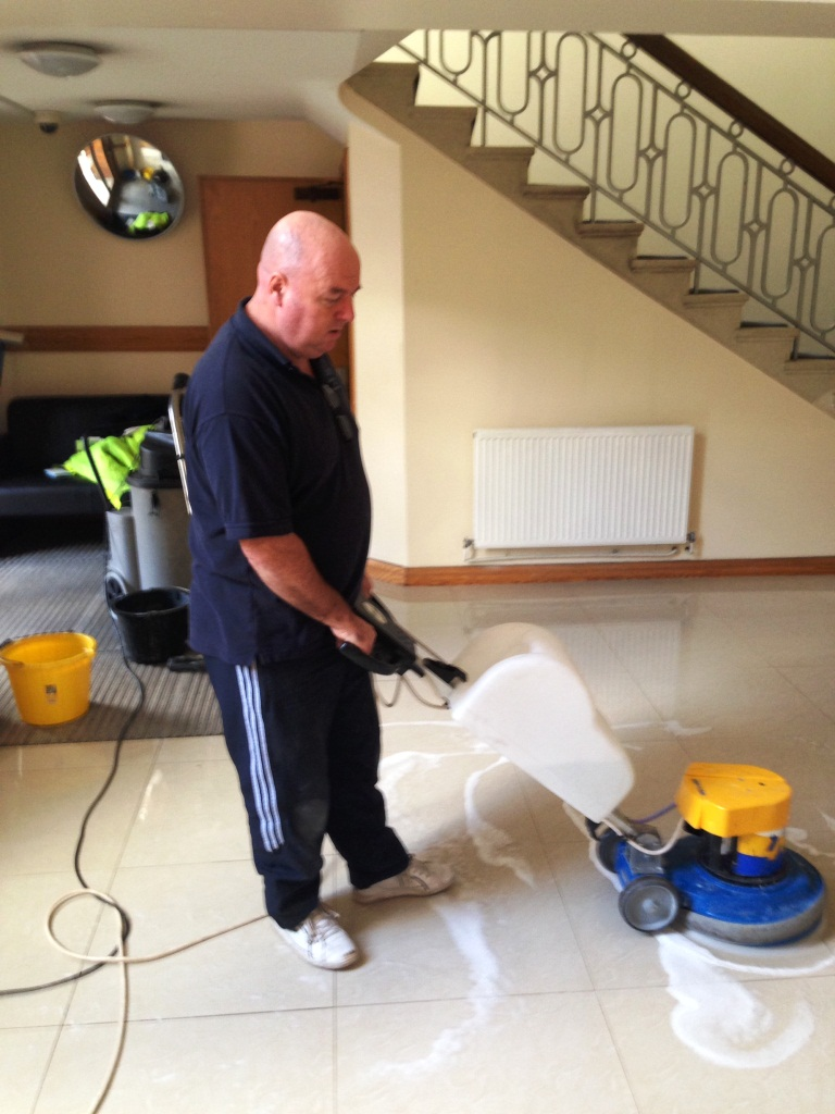 Antislip Application Porcelain Tile Wimbledon