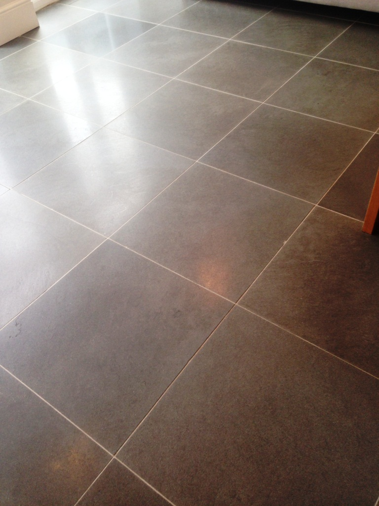 Limestone Floor Fulham After Cleaning Sealing 5