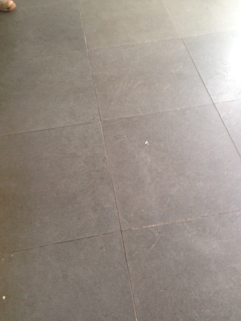 Limestone Floor Fulham Before Cleaning 3