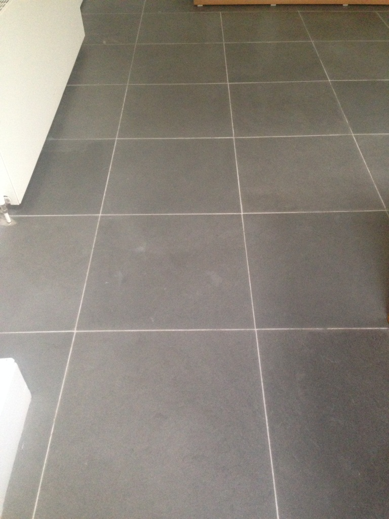 Limestone Floor Fulham Before Sealing 4