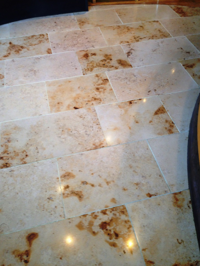 Sealing marble floor east surrey tile doctor marble tiles indian restaurant south croydon after cleaning dailygadgetfo Choice Image