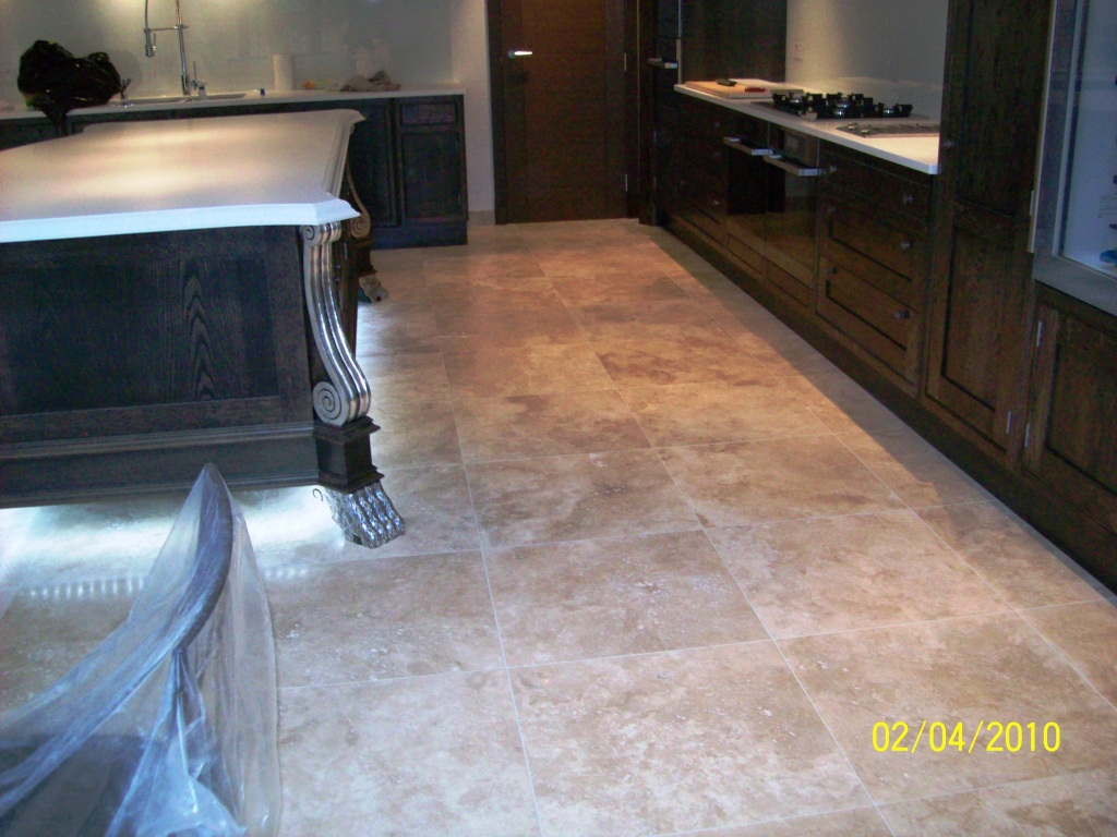 Travertine Kitchen Floors Cleaning Services Stone Cleaning And Polishing Tips For