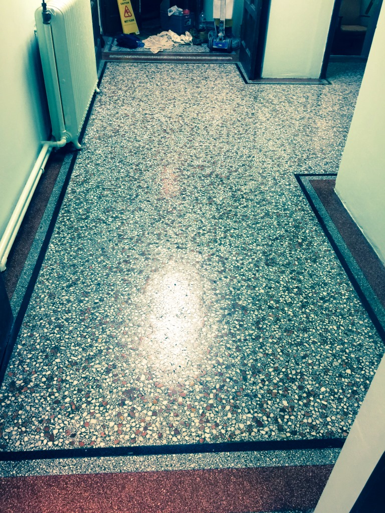 Terrazzo posts stone cleaning and polishing tips for for Floor to floor carpet
