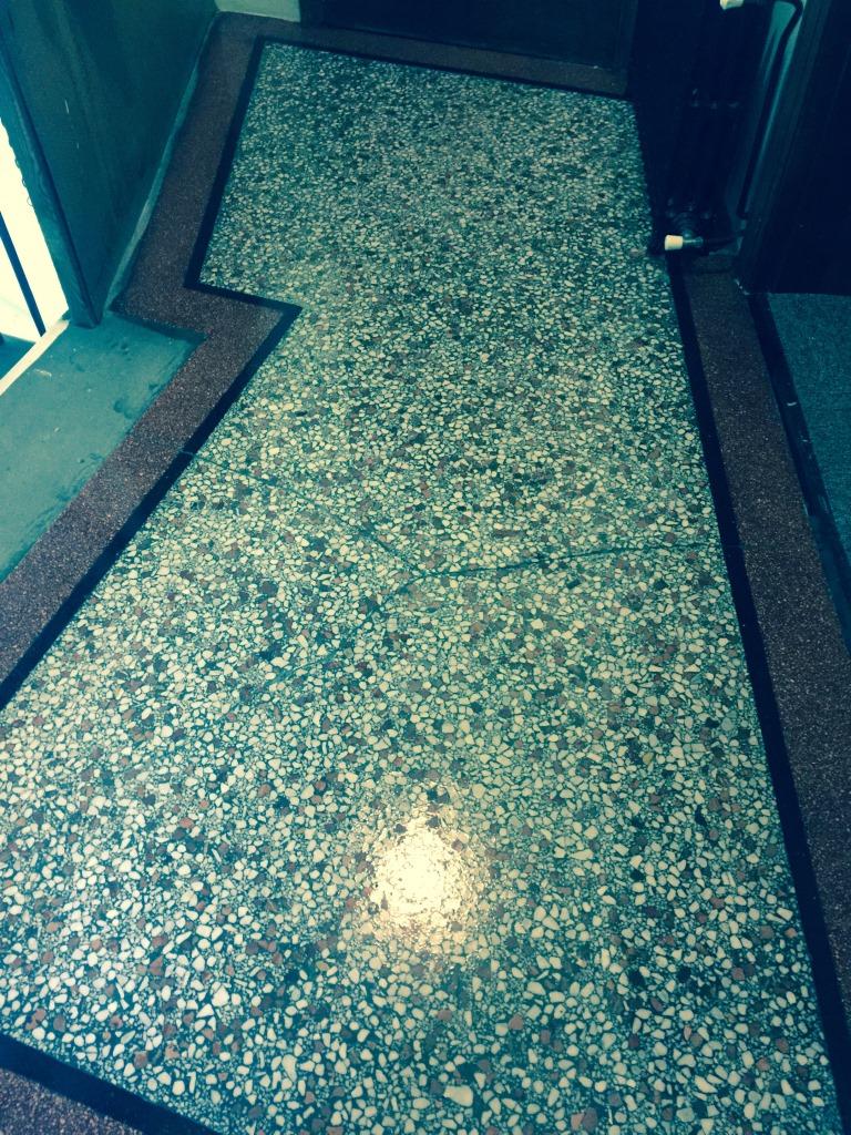 Restoring The Appearance Of Terrazzo Floor Tiles Stone