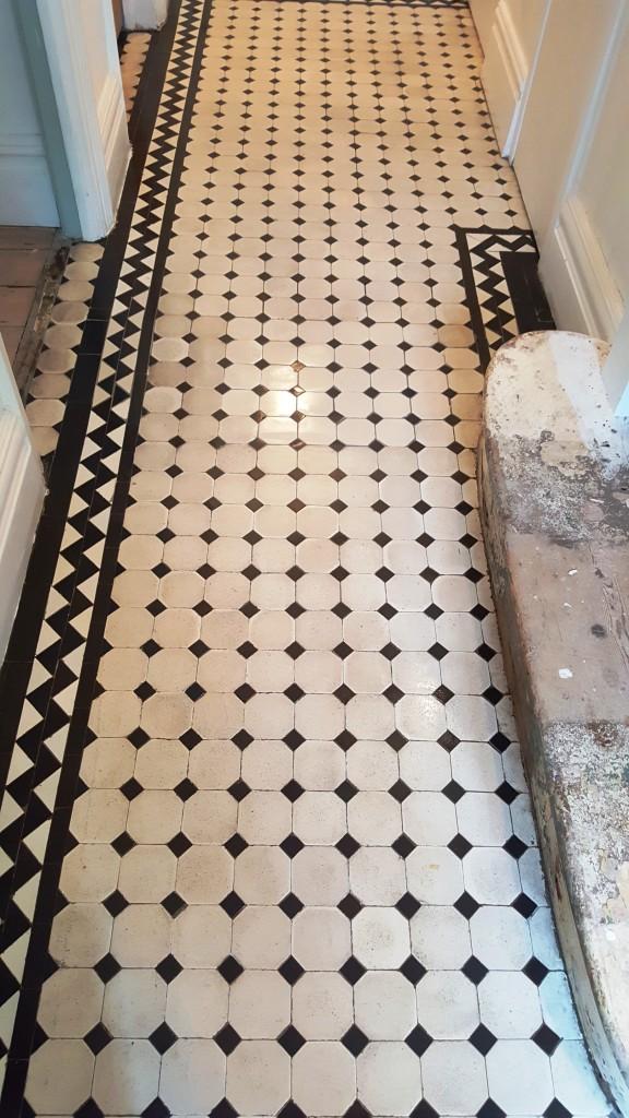 Victorian Tiled Hallway After Restoration Brixton