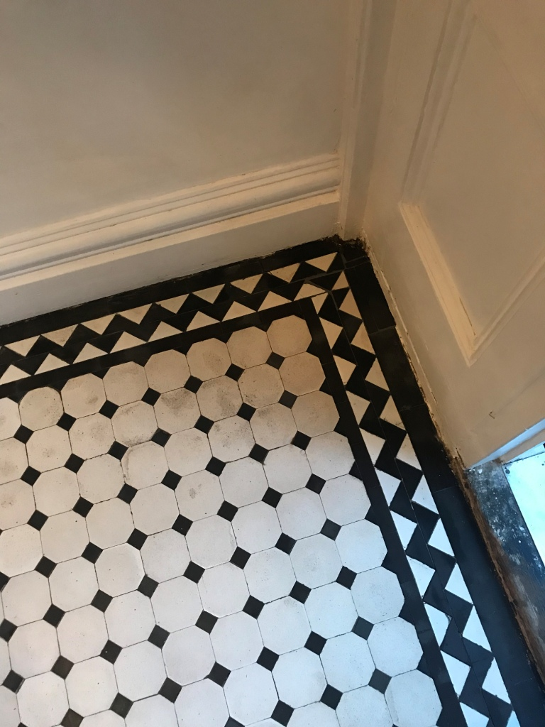 Victorian Tiled Hallway After Restoration Brixton