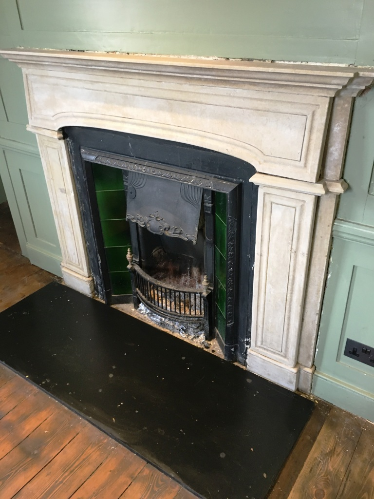 Restoring A 200 Year Old Stone Fireplace In Lingfield