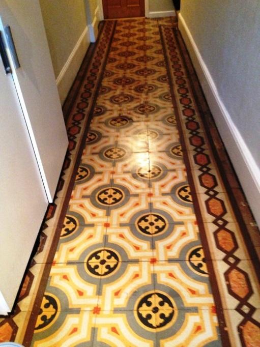 Old Encaustic Floor Restoration