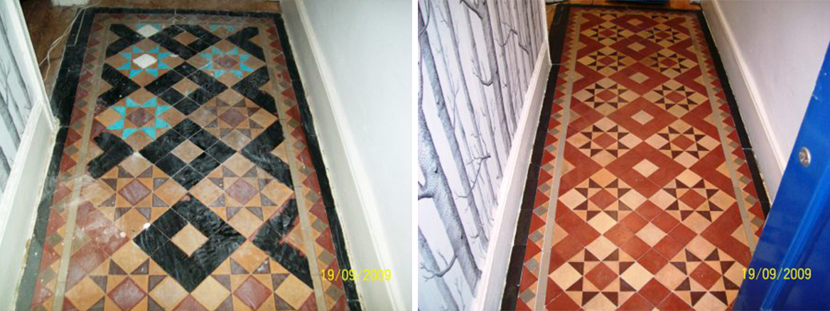 Victorian Floor Fulham Before and After