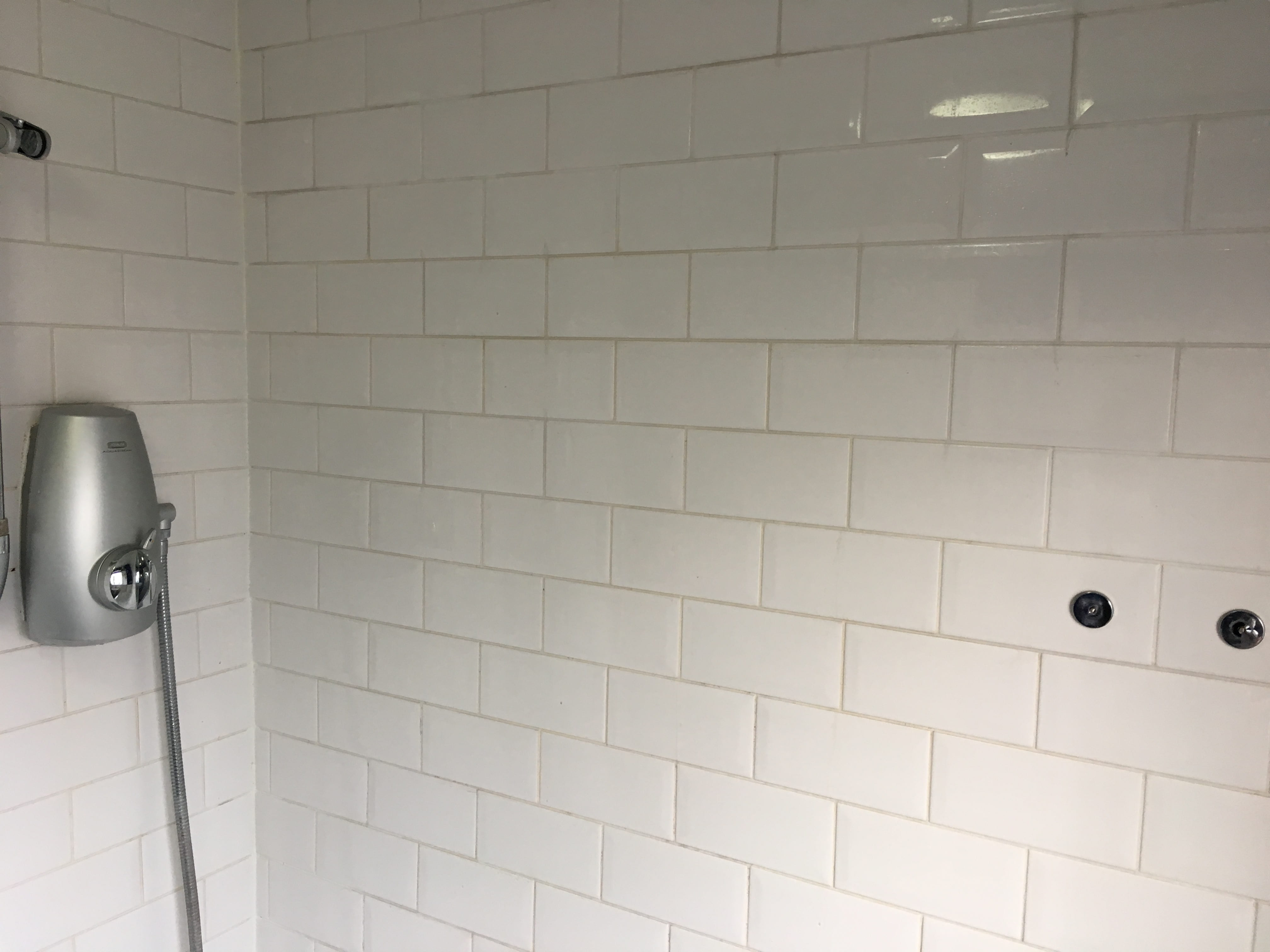 Ceramic Tiled Bathroom Before Cleaining Dorking